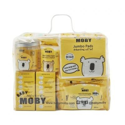 Baby Moby เซตสำลีกระเป๋าคุณแม่มือใหม่ New Mom Essentials Gift Bag