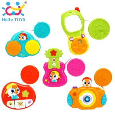 Huile Toys - ของเล่นติดรถเข็น Stroller Bar Musical Toy Sets