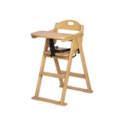 Idawin เก้าอี้ทานข้าวเด็ก รุ่น Wooden High Chair 01