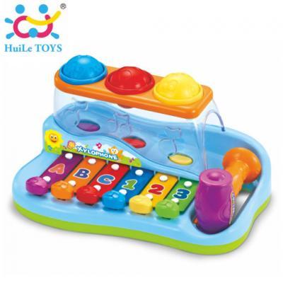 Huile Toys - ไวโลโฟนของเล่นเด็ก Enlightening & Intellectual Xylophone