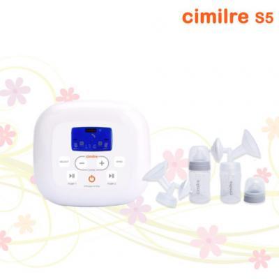 Cimilre เครื่องปั๊มนมแบบ 2 มอเตอร์ กรวย 24 มม. รุ่น S5