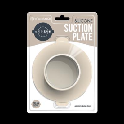ซิลิโคนกันลื่น สำหรับยึดภาชนะเด็ก Grosmimi Silicone Suction Plate