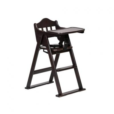 Idawin เก้าอี้ทานข้าวเด็ก รุ่น Wooden High Chair 02