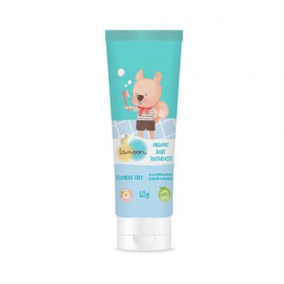Lamoon ยาสีฟันออร์แกนิคสำหรับเด็ก 40 กรัม Lamoon Baby Toothpaste 40 g.