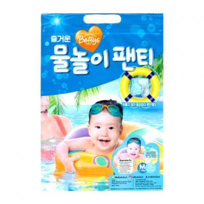 Beffys กางเกงผ้าอ้อมสำหรับว่ายน้ำ ไซส์ M / 3 ชิ้น Diapers swimming pant Size M / 3 piece