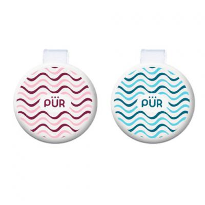 PUR ที่คล้องจุกหลอกวงกลม Round shaped soother holders