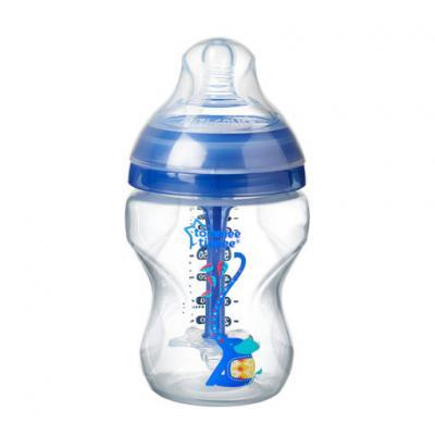 Tommee Tippee ขวดนม รุ่น Anti-colic ขนาด 9 oz. พร้อมจุกนมสำหรับเด็กชายแรกเกิด