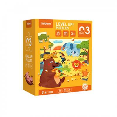 Mideer จิ๊กซอว์สำหรับน้องเล็กขั้น 3 Advanced Puzzle Step3