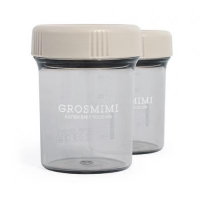 ถ้วยเก็บอาหารเด็ก Grosmimi Essten Baby Food Jar 250 ml (2pcs)