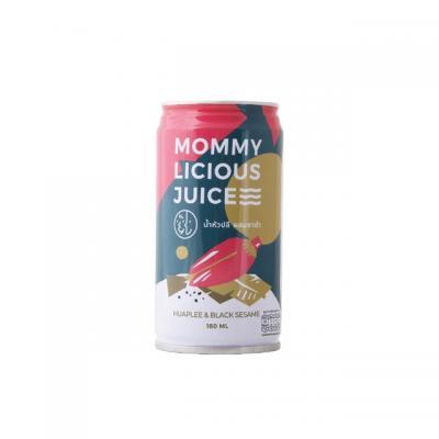 Mommylicious Juice น้ำหัวปลีผสมงาดำ 180มิล.