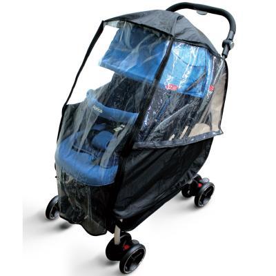 พลาสติกคลุมกันฝนรถเข็นเด็ก Stroller Rain Cover - Prince & Princess
