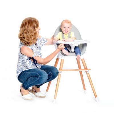 เก้าอี้เด็ก Kinderkraft รุ่น FINI HIGH CHAIR (สมาชิกลดเพิ่ม 5%)