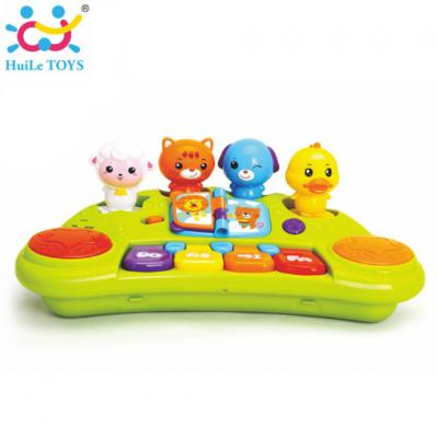 Huile Toys - คีบอร์ดของเล่นเด็ก Funny Animal Keyboard