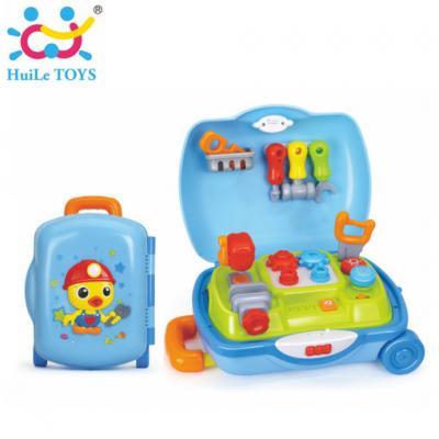 Huile Toys - ชุดกระเป๋าเครื่องมือช่าง Tool Set Suitcase
