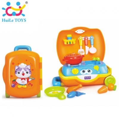 Huile Toys - ชุดกระเป๋าเชฟ Little Chef Suitcase