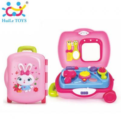 Huile Toys - ชุดกระเป๋าแต่งหน้า Princess Suitcase