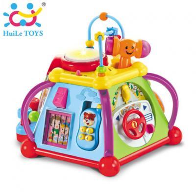 Huile Toys - กล่องกิจกรรมการเรียนรู้ Happy Small World