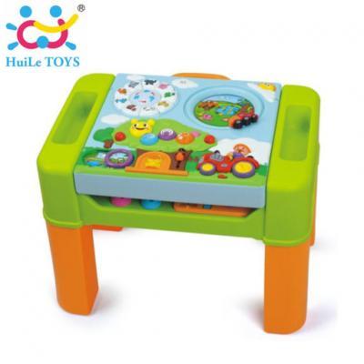 Huile Toys - โต๊ะกิจกรรมการเรียนรู้ IQ 105 Intelligent Interactive Game Table