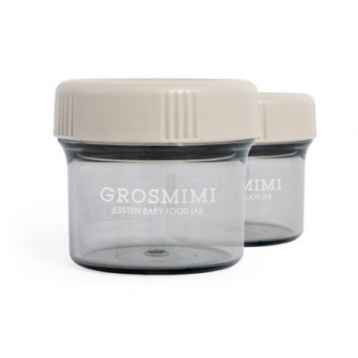 ถ้วยเก็บอาหารเด็ก Grosmimi Essten Baby Food Jar 150 ml (2pcs)