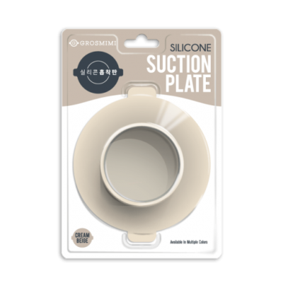 ซิลิโคนกันลื่น สำหรับยึดภาชนะเด็ก Grosmimi Silicone Suction Plate (สมาชิกลดเพิ่ม 5%)