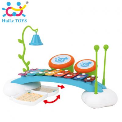 Huile Toys - ไซโลโฟน Enlightening Rainbow 8 Sounds Organ