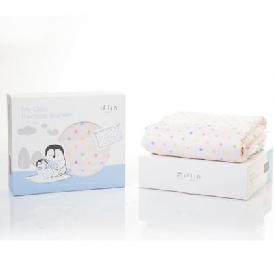 IFLIN ผ้าห่มใยไผ่สำหรับเด็ก My Cozy Bamboo Blanket (For Baby)