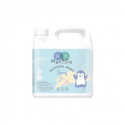 Mev&Co Alcohol Hand Spray 1,000 ml.