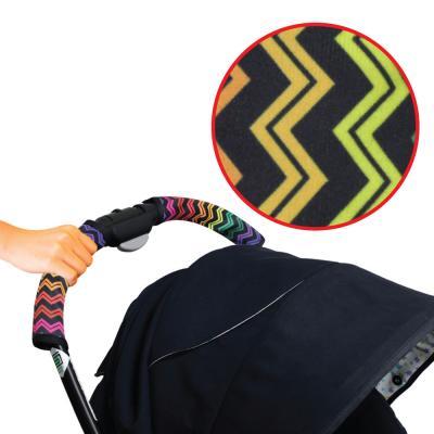 นวมหุ้มด้ามจับรถเข็น Stroller Handle Cover - Prince & Princess  Free Stroller Strap Cover