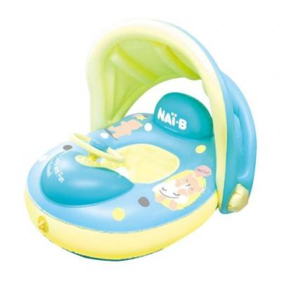 Nai-B Cushion Parasol Baby Walker Swim tube ห่วงยางเล่นน้ำ พร้อมที่กันแดด (ลด 30% 1-30 ก.ย. 64)