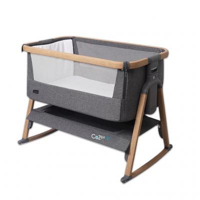 TUTTI BAMBINI เตียงนอนเด็กแรกเกิด Cozee Bed side crib with Rocking  รุ่นมีขาโยก