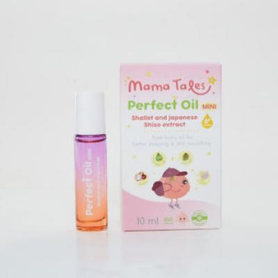Mama Tales Perfect Oil น้ำมันหอมระเหยบริสุทธิ์จากสารสกัดธรรมชาติและออร์แกนิค ขนาด 10 ml. (ลด 25% 1-30 ก.ย. 64)