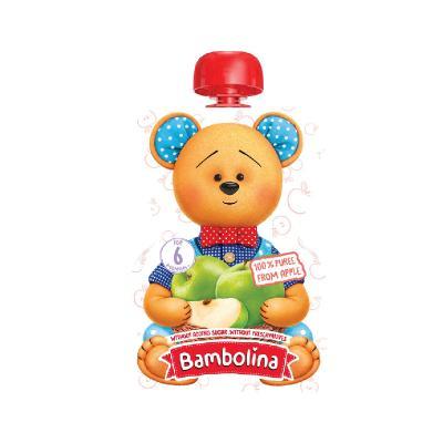 Bambolina แอปเปิ้ลบด 90 กรัม (ซื้อ 6 ชิ้น แถมฟรี 1 ชิ้น 1-30 ก.ย. 64)