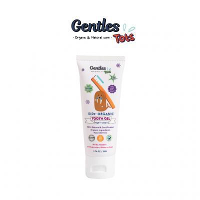 Gentles Tots ยาสีฟันเด็กออร์แกนิค สูตร Kids 1 ปี+ (ลด 5% 1-30 ก.ย. 64)