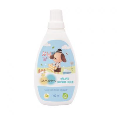 Lamoon น้ำยาซักผ้าเด็ก 750 มล. Lamoon Laundry 750 ml (สมาชิกลด 10% 1-30 ก.ย. 64)