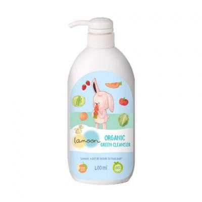 Lamoon น้ำยาล้างผักผลไม้ออร์แกนิค 400 มล. Lamoon Green Cleaner 400 ml (สมาชิกลด 10% 1-30 ก.ย. 64)