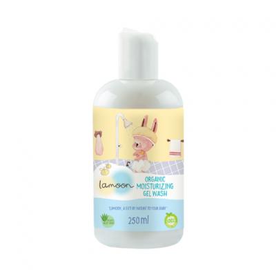 Lamoon เจลอาบน้ำ-สระผม สำหรับเด็ก 250 มล. Lamoon Moisturizing Gel Wash 250 ml (สมาชิกลด 10% 1-30 ก.ย. 64)