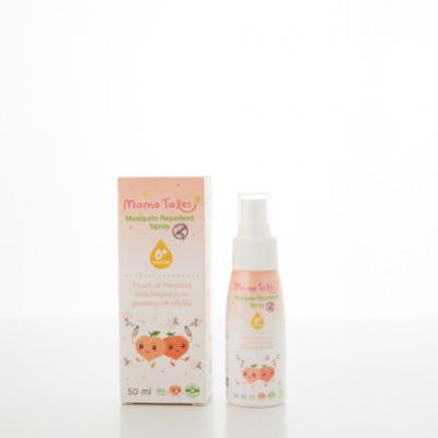 Mama Tales Mosquito Repellent Spray สเปรย์ไล่ยุงและแมลง กลิ่นพีชญี่ปุ่น (ซื้อ 1 ชิ้น แถมฟรี 1 ชิ้น เฉพาะวันที่ 1-31 ต.ค. 64)
