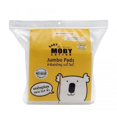 Baby Moby สำลีแผ่นใหญ่ Jumbo Pads