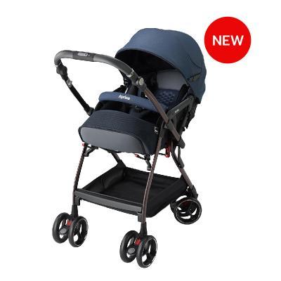 รถเข็นเด็กแรกเกิด Aprica รุ่น Optia Cushion Premium AB